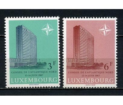 LUKSEMBURG** 1967 NATO TOPLANTISI TAM SERİ(081015)