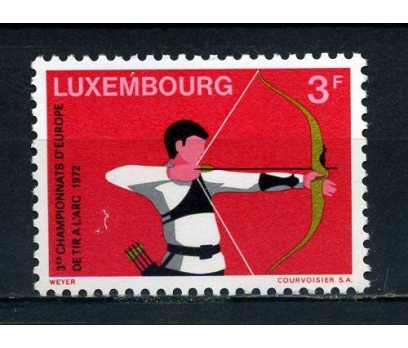 LUKSEMBURG ** 1972 AV.OKÇULUK Ş. TAM SERİ(081015)