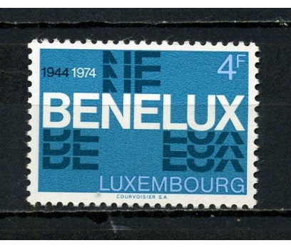 LUKSEMBURG** 1974 BENELUX 30.YIL TAM SERİ (081015)