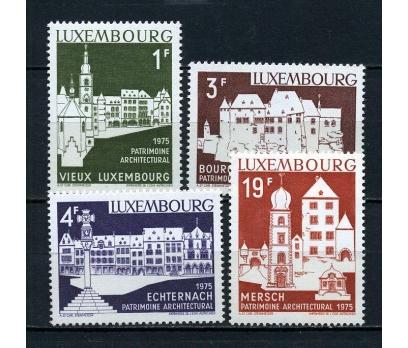 LUKSEMBURG ** 1975 AVR.MİMARİSİ TAM SERİ (081015)
