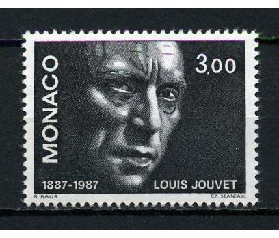 MONAKO ** 1987 FRANSIZ AKTÖR L.JOUVET TAM (091015)