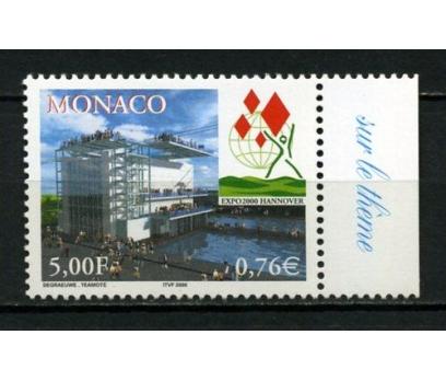MONAKO ** 2000 EXPO 2000 HANNOVER TAM SERİ(111015)