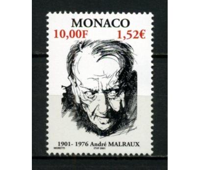 MONAKO ** 2001 ANDRE MALRAUX 100.D.Y.TAM S(111015)