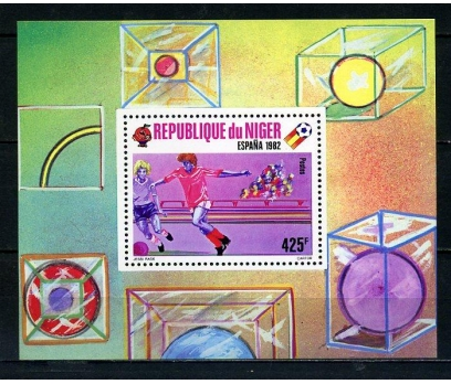 NİJER ** 1981 FUTBOL BLOK SÜPER (051015)