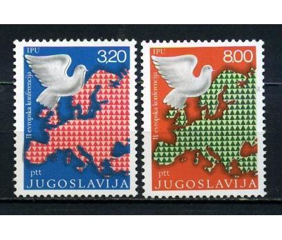 YUGOSLAVYA ** AVRUPA YAN TEMA TAM SERİ (071015)
