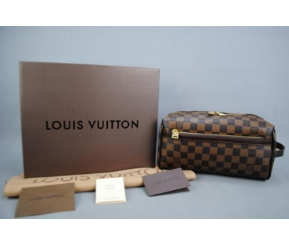 LOUIS VUITTON TOILETRY KIT DAMİER CANVAS