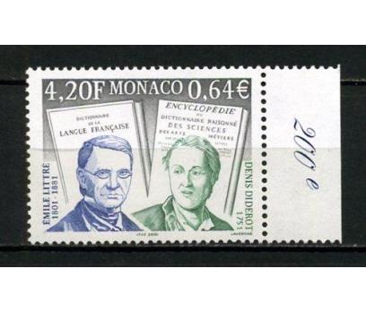 MONAKO ** 2001 LİTTRE & DİDEROT TAM SERİ (121015)