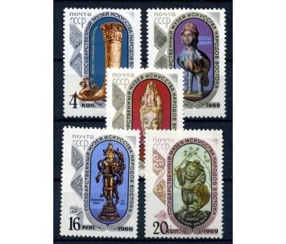 SSCB ** 1969 MOSKOVA MÜZESİ TAM SERİ (161015)