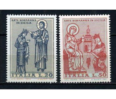 İTALYA ** 1974 MOZAİKLER TAM SERİ (191015)