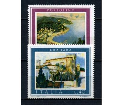 İTALYA ** 1974 PORTOFİNO & GRADARA TAM S.(191015)