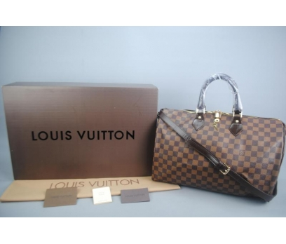 LOUIS VUITTON BANDOULİERE SPEEDY DAMİER CANVAS
