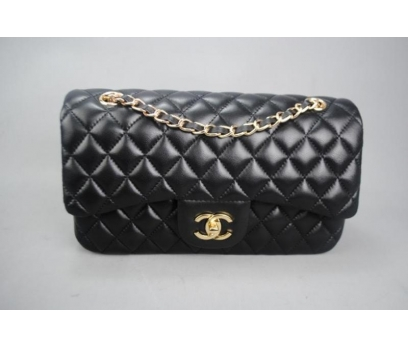 CHANEL JUMBO FLAP BAG 2,55 ORTA BOY %100 DERİ 3