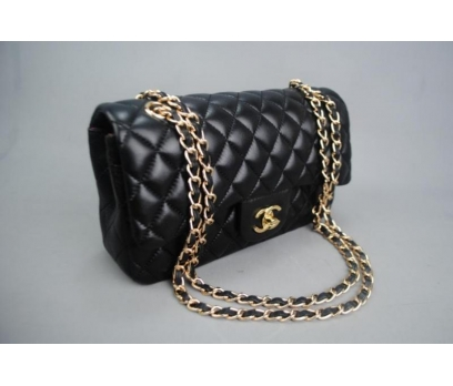 CHANEL JUMBO FLAP BAG 2,55 ORTA BOY %100 DERİ 5
