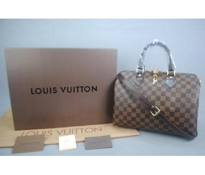 LOUIS VUITTON BANDOULİERE SPEEDY DAMİER CANVAS 30