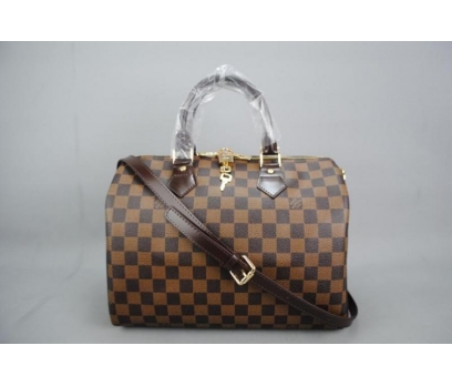 LOUIS VUITTON BANDOULİERE SPEEDY DAMİER CANVAS 30 2