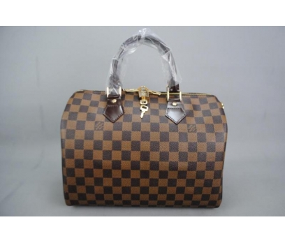 LOUIS VUITTON BANDOULİERE SPEEDY DAMİER CANVAS 30 5