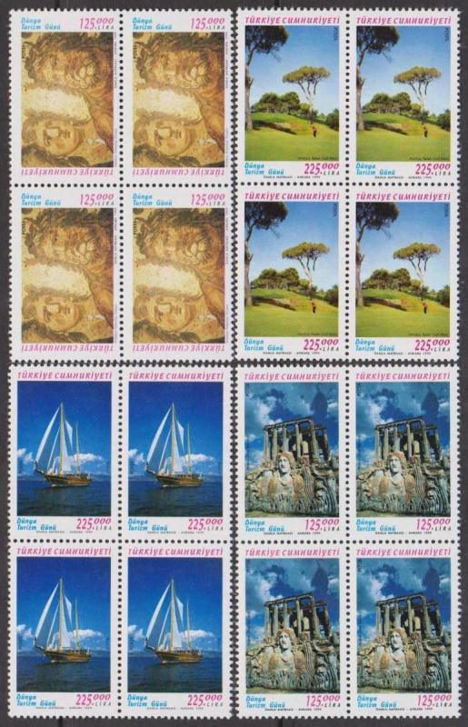 1999 Dünya Turizm Günü DBL Damgasız** 1