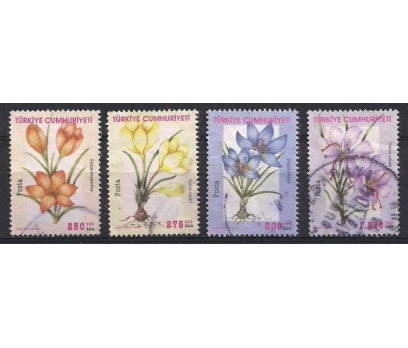 2000 Çiçekler Damgalı