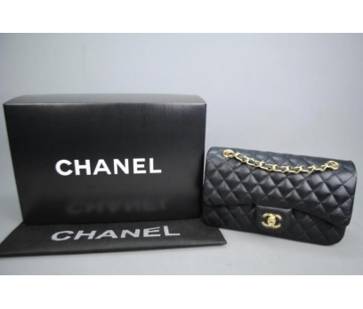 CHANEL CAVİAR FLAP BAG 2,55 ORTA BOY %100 DERİ