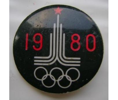 1980 MOSKOVA OLİMPİYATLARI  POP ROZET