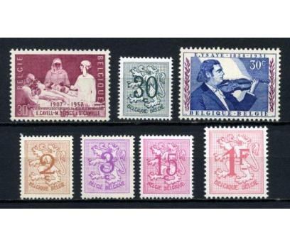 BELÇİKA ** 1957-59  4 TAM SERİ SÜPER (001)
