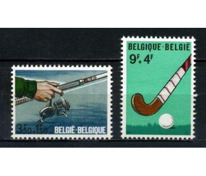 BELÇİKA ** 1970  BALIKÇILIK & HOKEY TAM SERİ (001)