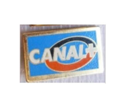 FRANSIZ CANAL+ TV  ROZETİ. DİKDÖRTGEN ŞEKLİNDE