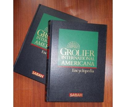 GROLIER INT.AMERICANA ANSİKLOPEDİ 1 ve 8 CİLT
