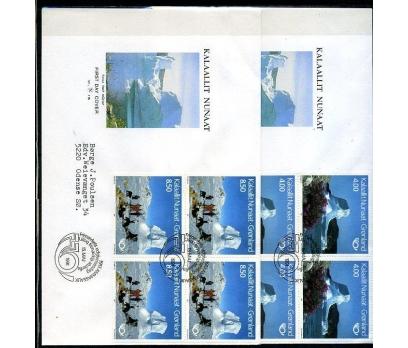 GRÖNLAND 1991 FDC TURİZM SÜPER (003)