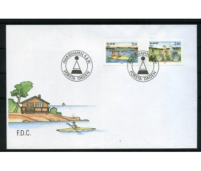 ALAND 1991 FDC TURİZM SÜPER (006)