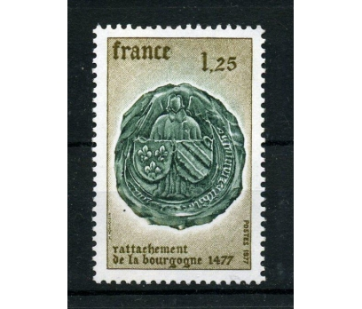 FRANSA ** 1977 BURGUND 500.YIL TAM SERİ(007)
