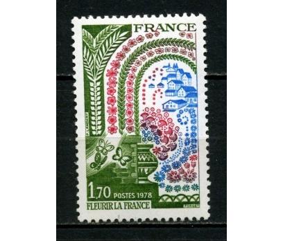 FRANSA ** 1978 ÇİÇEKLİ FRANSA KAMP. TAM SERİ (007)