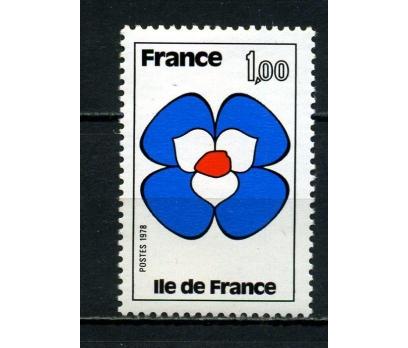 FRANSA ** 1978 FRANSANIN BÖLGELERİ TAM SERİ(007)