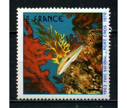 FRANSA ** 1978 MİLLİ PARK PORT CROS TAM SERİ (007)