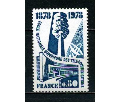 FRANSA ** 1978 TELEKOM.OKUL 100.YIL TAM SERİ (007)