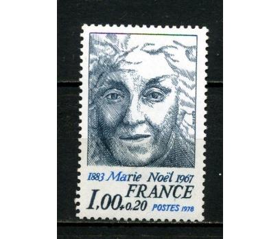 FRANSA ** 1978 YAZAR MARIE NOEL TAM SERİ (007)