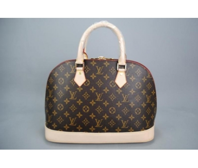LOUİS VUİTTON MONOGRAM CANVAS ALMA %100 HAKİK DERİ 2