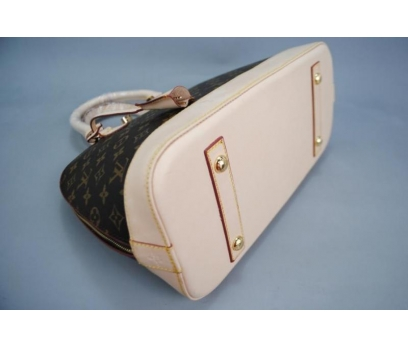 LOUİS VUİTTON MONOGRAM CANVAS ALMA %100 HAKİK DERİ 4