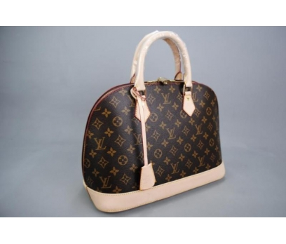 LOUİS VUİTTON MONOGRAM CANVAS ALMA %100 HAKİK DERİ 5