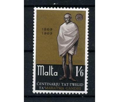 MALTA ** 1969 GANDHİ 100.D.Y. TAM SERİ SÜPER (006)
