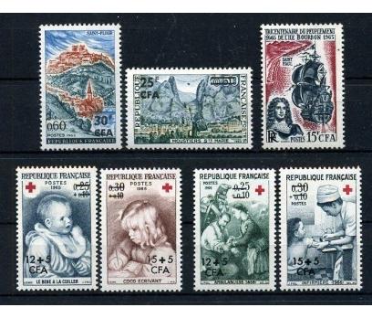 REUNİON ** 1965-66 KUSURSUZ 5 TAM SERİ (005) 1