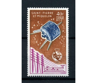S.P.MİQUELON ** 1965 ITU 100.YIL TAM SERİ (005)