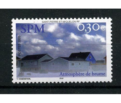 S.P.MİQUELON ** 2005 SPM'DA SİS TAM SERİ (005) 1