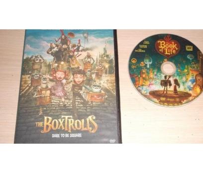 Yaratıklar Aramızda - The Boxtrolls (DVD)