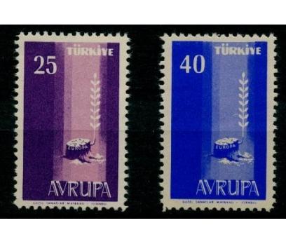 1958 Avrupa Europa Cept Damgasız**