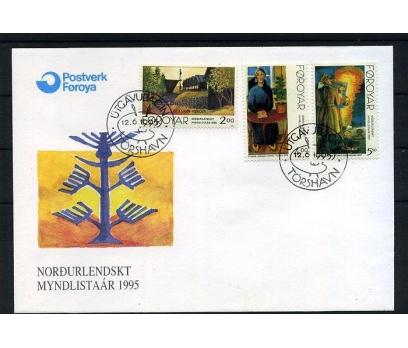 FAROE AD. 1995 FDC TABLOLAR SÜPER (008)