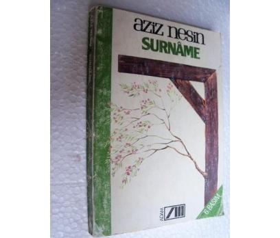 SURNAME - AZİZ NESİN - ADAM YAY.