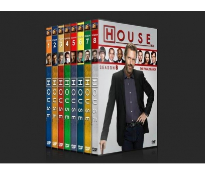 House M.D.  (Seasons 1-8)