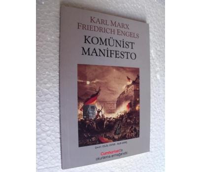 KOMÜNİST MANİFESTO - KARL MARX& FRIEDRICH ENGELS