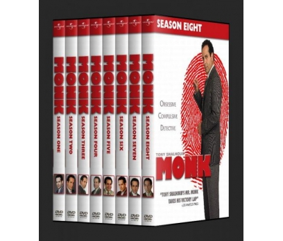 Monk  (Seasons 1-8)